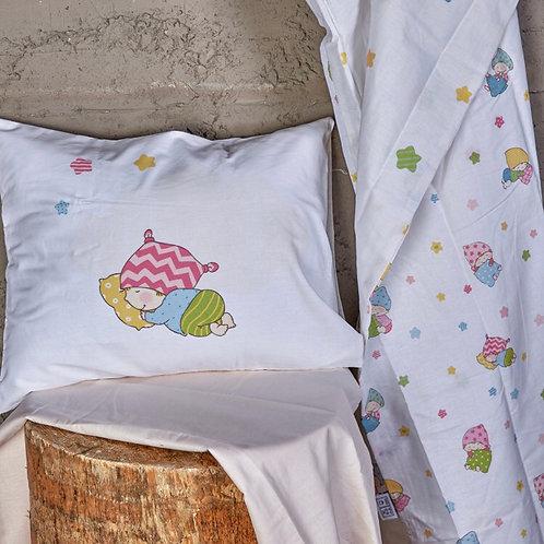 Sleepers Baby Bettwäsche Runforce 100% Baumwolle