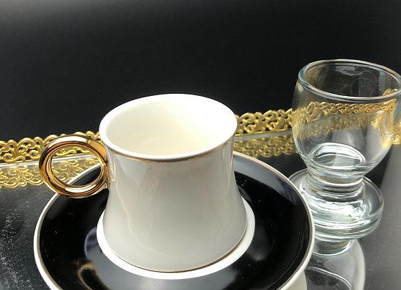 Wasserglas für den Mokka - 6er Set