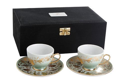 Porland Vaha Kaffee Set - 4tlg mit Koffer