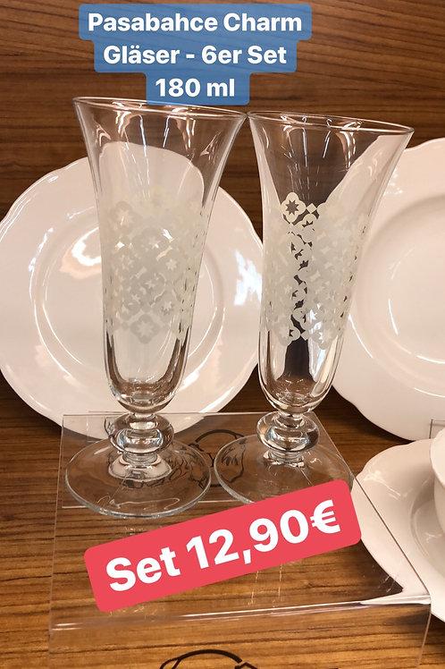 Pasabahce Charm Gläser - 6er Set
