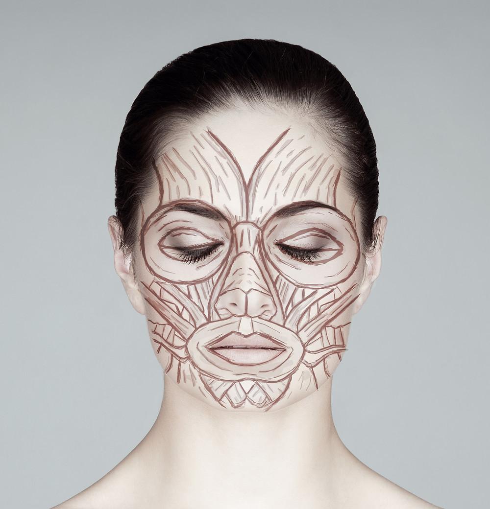 Microcurrent Facial reeducates facial muscles.