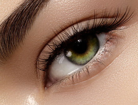 Permanent makeup for perfectly lined eyes.