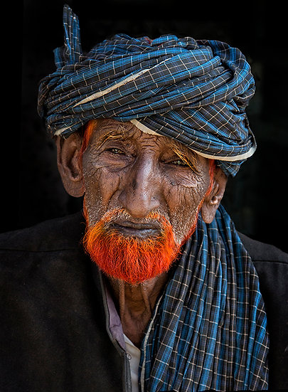 The Man with the Orange Beard