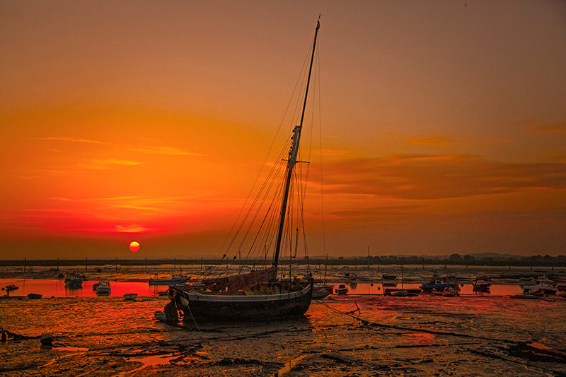 Saxonia at Sunset