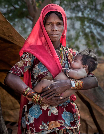 Mother and Child - Pushkar