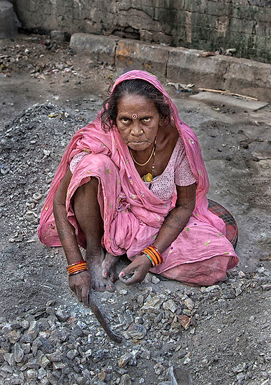 Road side Worker - Kolkata