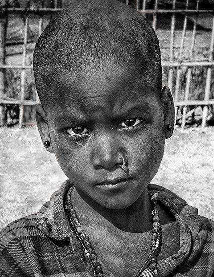 Young Girl - Kumbh Melah