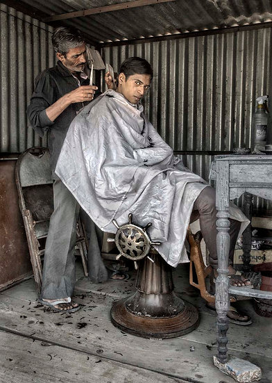 The Pushkar Barber Shop