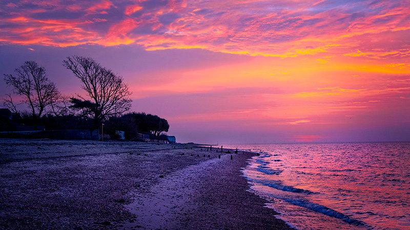 Sunrise on Monkey Beach