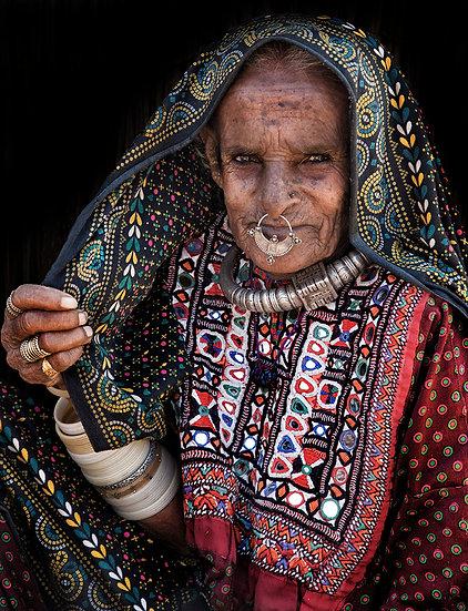 Meghwal Tribeslady - Gujerat