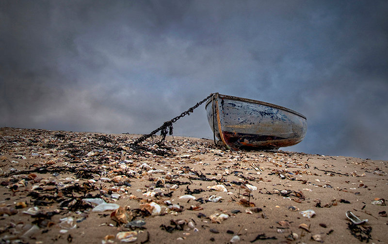 Old Dinghy - Shingle Point