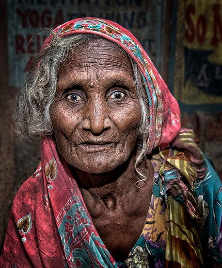 Street Lady - Varanasi