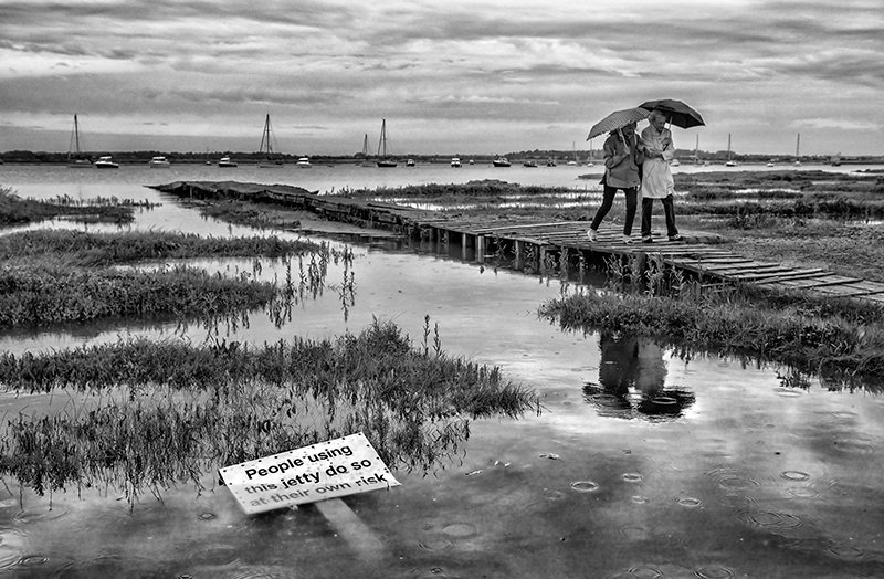 A Rainy Day on Mersea Island
