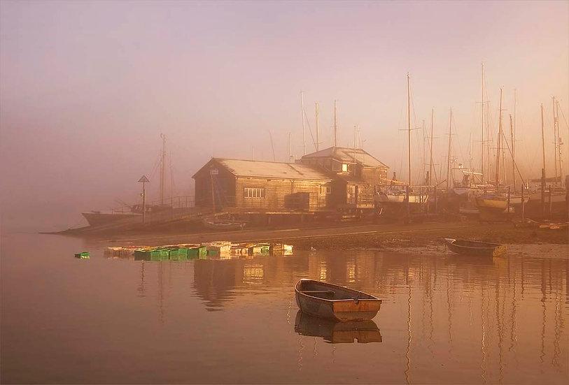 Dawn at the Lifeboat shed