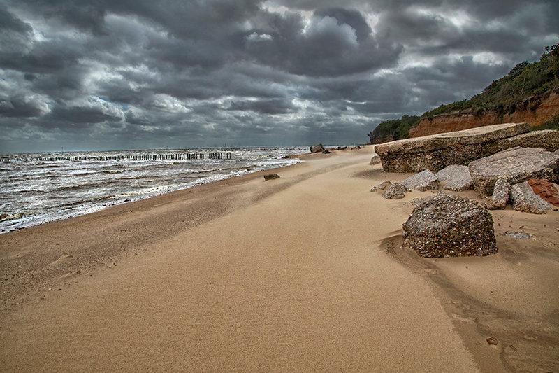 Storm Frances hits East Mersea