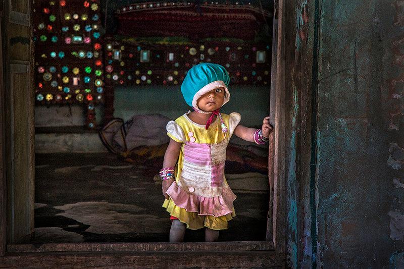 Vilage Child - Gujerat