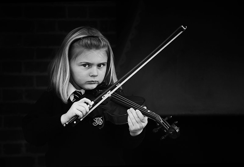 The Reluctant Violinist