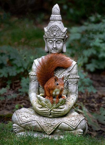 Cradled by Buddha