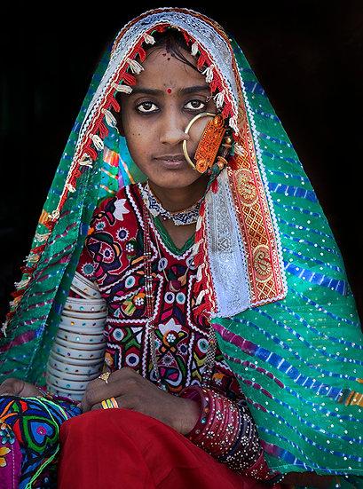 Harijan Woman - Kutch