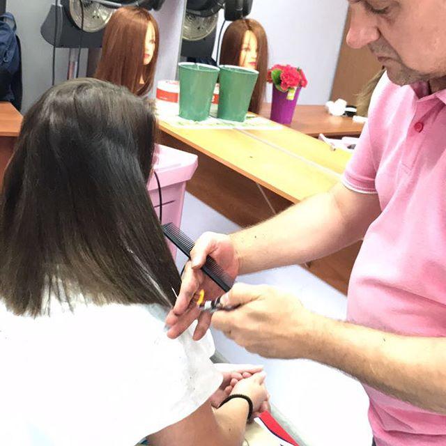 Мастер класс по обжигу волос #белгород #курсы #парикмахерская #салонкрасоты #парикмахерскиекурсы #ку