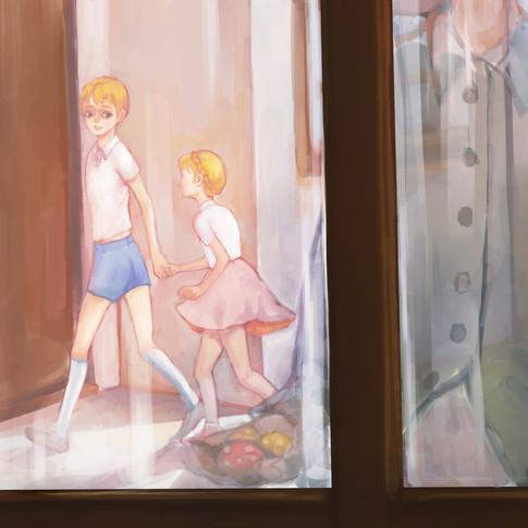 Hansel and Gretel's neighbor