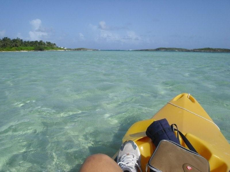Kayak to Tahiti Beach