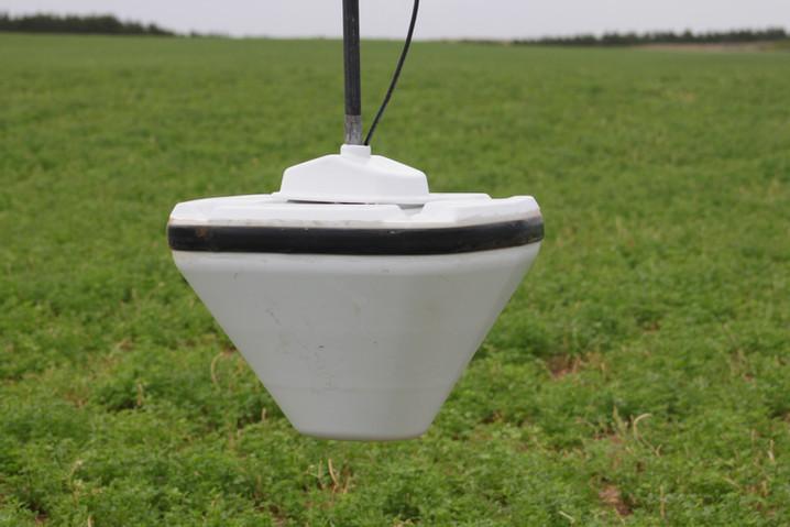 Non-Invasive soil moisture sensor
