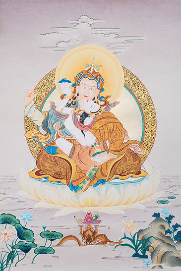 Guru-Rinpoche-with-Consort-Images-Of-Enl