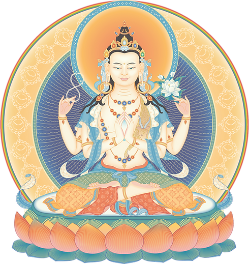 Avalokiteshvara-4-armed-2_transparent.pn