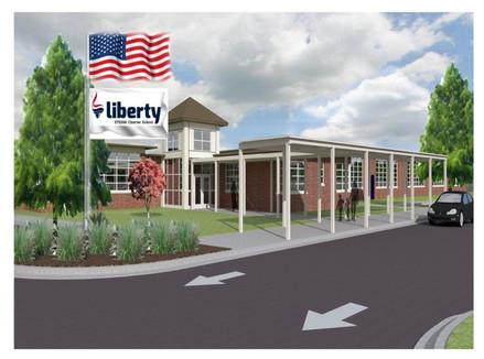 Liberty STEAM Charter School Rendering