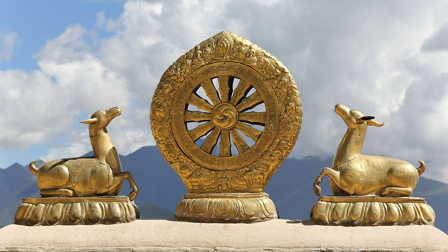golden-dharma-wheel-153837012-a725e73142