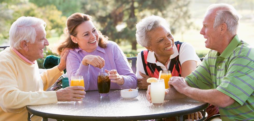 Retirees Enjoying Happy Hour Sumter South Carolina