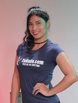 Instructora de Ritmos Latinos: Salsa, Merengue, Bachata
