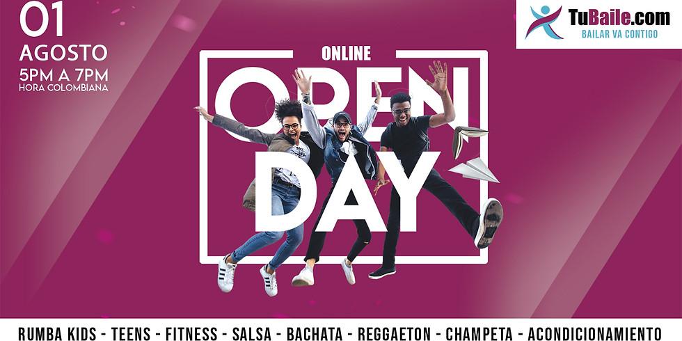 Clases de Baile Gratis - Open Day - TuBaile.com