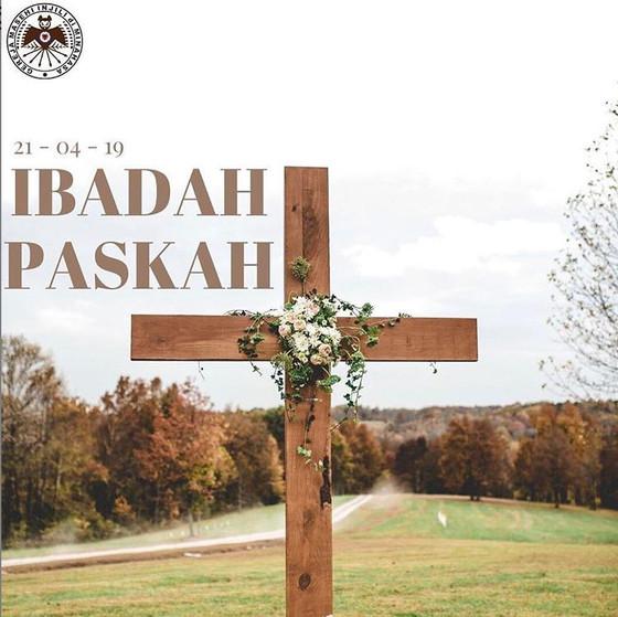 Ibadah Minggu Paskah GMIM SION Jakarta Utara