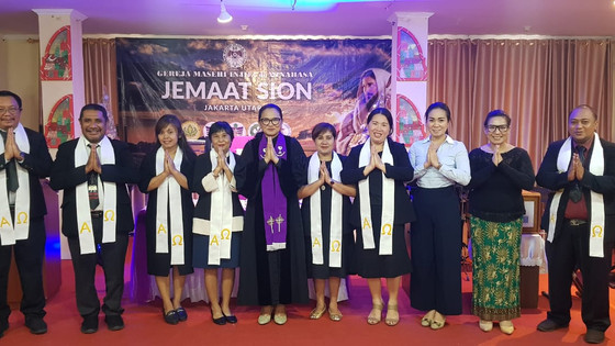 Ibadah Minggu GMIM SION Jakarta Utara