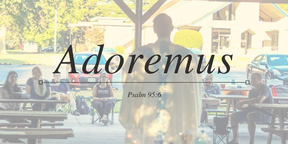 Outdoor Adoremus and Mass