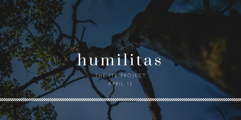 Humilitas (Lenten Silent Day Retreat)