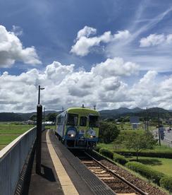 中村線古津賀駅