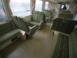 local train cabin