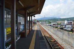 奈半利駅ホーム