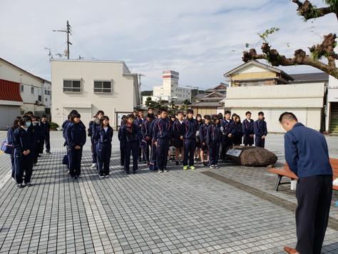 中村駅ボランティア清掃 2018 冬