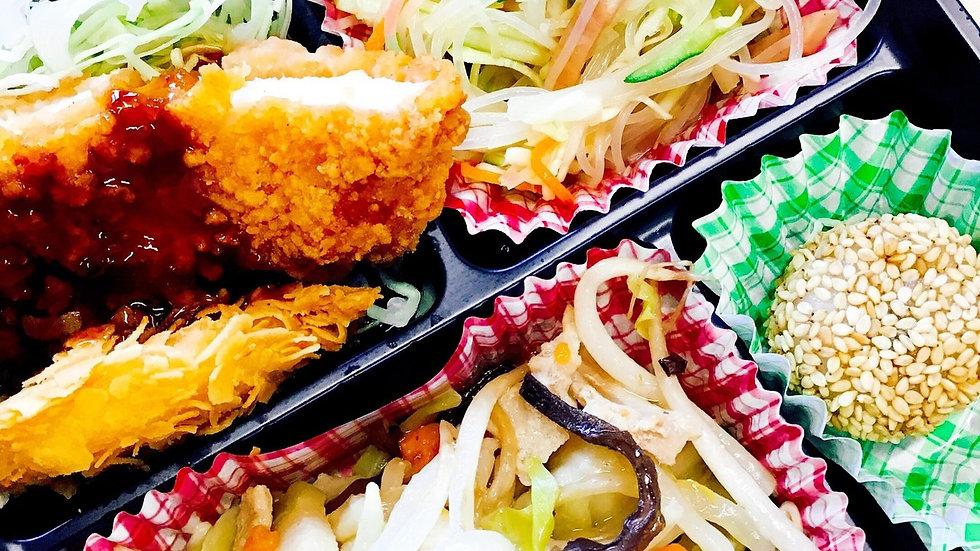 日替わり弁当 「つき」(ご飯150g)