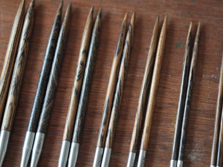 [程師傅手工檀木針] 9月新品- 限量虎皮檀木手工針、針包