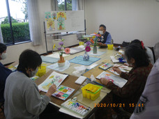 水彩画教室2