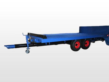 農業機械用トレーラー コンバインカー TE-1320S クローラ止メ付(ブレーキなし)