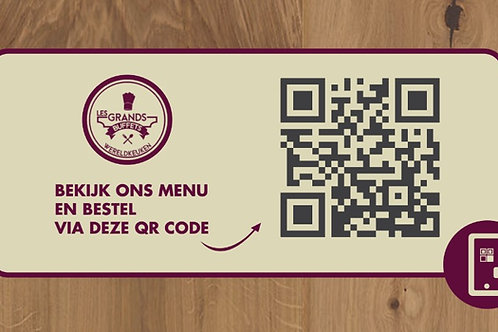 QR code per 10 stickers