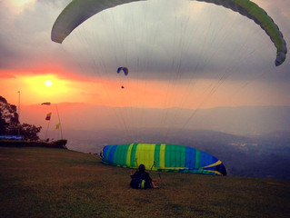 ...sunset kite sessions <3