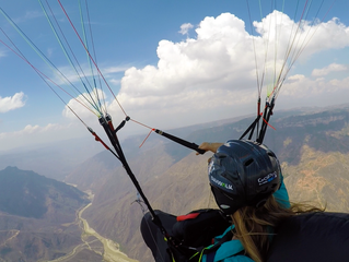 Flying the Chicamocha canyon