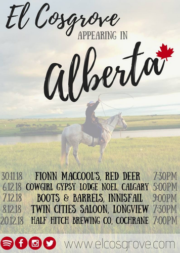 Alberta Canada Tour EL Cosgrove